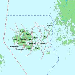 kommuneinndeling kart Ålands geografi – Wikipedia kommuneinndeling kart