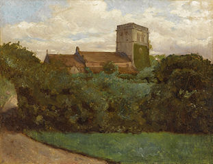 Tottenham Church, London, 1869