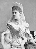La grande-duchesse Alexandra vers 1890.