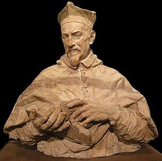 Alessandro Algardi - Terracotta modello of Cardinal Paolo Emilio Zacchia, c. 1650