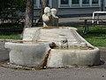 Alexander Zschokke (1894–1981) Bildhauer, Muul Halte-Brunnen, 1952, Gellert-Schulhaus, Schulhof, Emanuel Büchel-Strasse 15, Basel (2).jpg