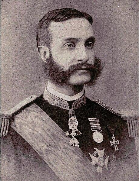 Alfonso XII de España, Rey de España.