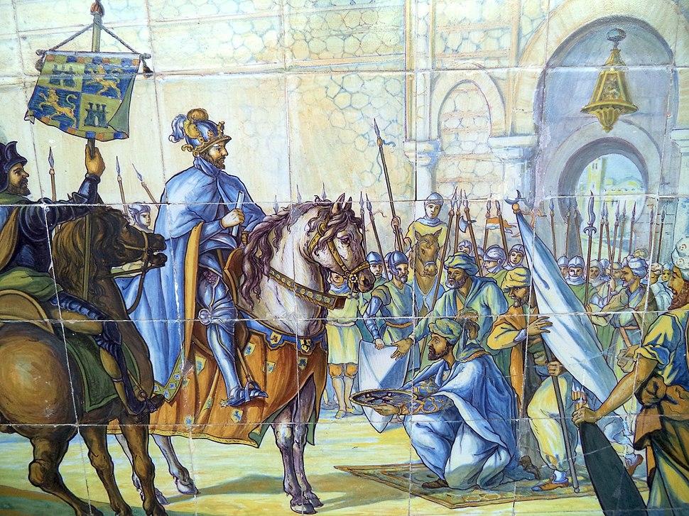 Alfonso VI reconquista Toledo
