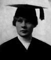 Algie Eggertsen, 1918 graduation picture.PNG