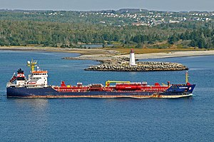 Algoma Tankers Limited - The Algonova one of the freighters in Algoma Tankers' fleet.