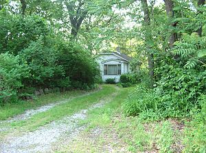 Nelson Algren - Dunes cottage where Algren and de Beauvoir summered in Miller Beach, Indiana.