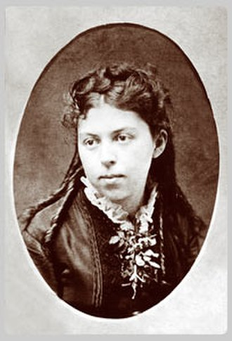 Alice Freeman Palmer - Alice Freeman Palmer, 1876, while at University of Michigan