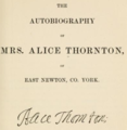 Alice Thornton title page from 1875.png