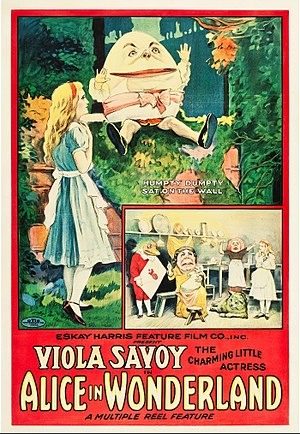 Alice in Wonderland (1915 film) - Theatrical release poster