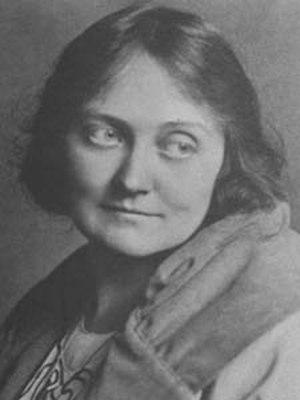 Aline Barnsdall - Portrait of Barnsdall, circa 1916