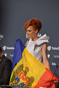 Aliona Moon, ESC2013 press conference 12.jpg