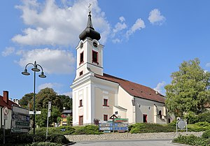 Alland - Sts George and Margareta parish church