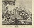 Allegorie op de aanvaarding van het Stadhouderschap door Prins Willem V, RP-P-OB-70.534.jpg