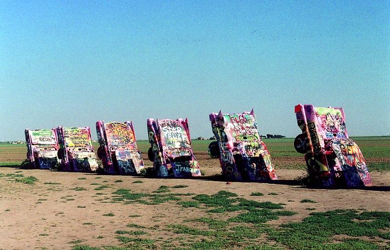File Along Old Rt 66 Amarillo Tx Cadillac Ranch 2005 6589863243