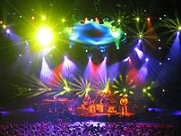 Phish performing at Alpine Valley in East Troy...