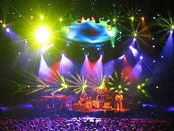 I Phish all'Alpine Valley di East Troy, Wisconsin nel luglio 2003