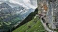 Alps of Switzerland Berggasthaus Aescher (38681588534).jpg