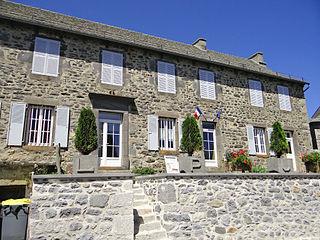 Part of Argences-en-Aubrac in Occitanie, France