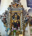 Altar of Job 18th c., basilica in Nowe Miasto Lubawskie.jpg