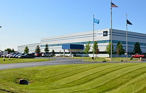 Altra Industrial Motion - Warner Electric's United States facility and grounds in Columbia City, Indiana.