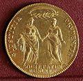 Alvise IV mocenigo, osella in oro da 4 zecchini, 1770.jpg