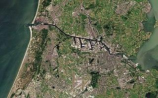 North Sea Canal Dutch ship canal