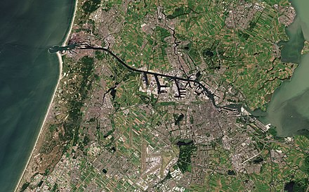 Satellite image of the south of North Holland Amsterdam with North Sea Canal by Sentinel-2.jpg