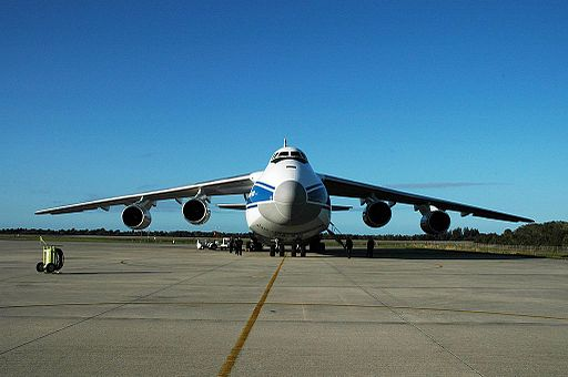 An-124 front view