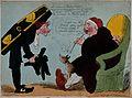 An undertaker's visit. Etching by Richard Newton, 17--. Wellcome V0042217.jpg