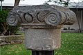 Ancient capitals of the columns. Golan Archaeological Museum. Katzrin. Golan heights 04.jpg