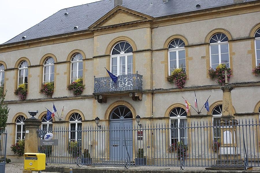 Mairie d'Ancy-sur-Moselle.