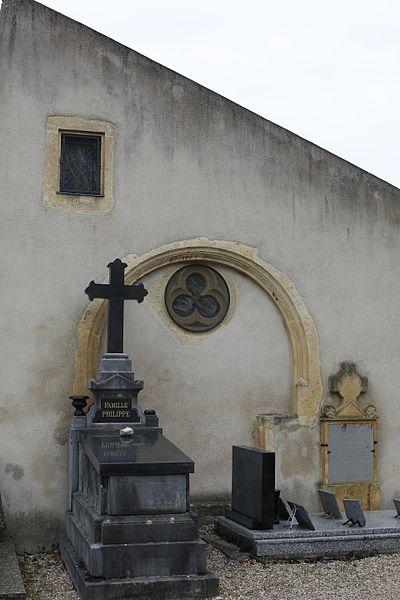 Ossuaire d'Ancy-sur-Moselle.
