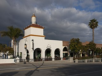 1925 Santa Barbara earthquake - The Andalucia Building, Spanish Colonial Revival style