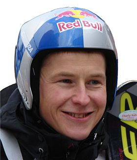 Andreas Goldberger à Schladming en 2007.