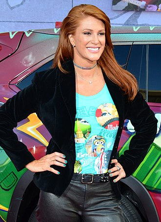 Angie Everhart - Everhart at the Muppets Most Wanted premiere on March 11, 2014