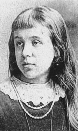 Anna Alma-Tadema - Anna Alma-Tadema, portrait photograph