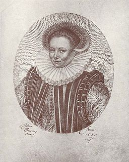 Countess Anna of Nassau Countess of Nassau