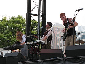 Annuals (band) - Annuals at Lollapalooza, 2007