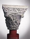 Anonyme toulousain - Chapiteau de colonne simple , La Descente du Christ aux limbes - Musée des Augustins - ME 140 (4).jpg
