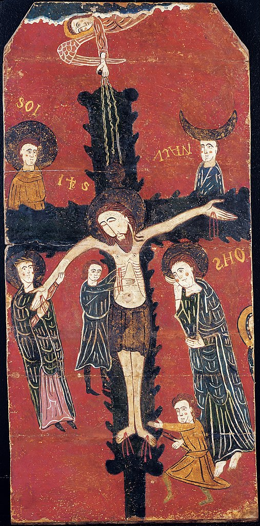 File anonymous catalan the descent from the cross for Artiste peintre catalan