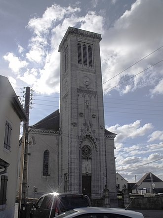 Anteuil - The church in Anteuil