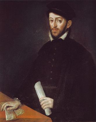 Antonio Ponz - Portrait of Antonio Pérez, secretary of King Philip II by Antonio Ponz, Monastery of San Lorenzo de El Escorial