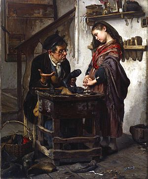 Antonio Rotta - The Hopeless Case painted by Rotta in 1871