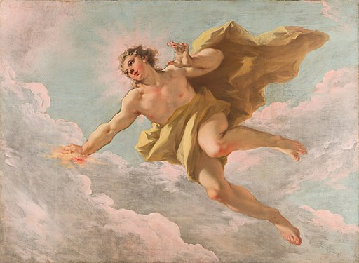 Apollo by Giovanni Antonio Pellegrini Mauritshuis 1135