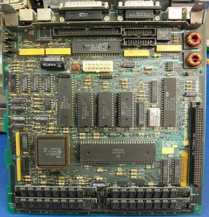 Macintosh SE - The main PCB from a 1988 Macintosh SE