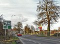 Approach to Holdingham Roundabout on the B1518 - geograph.org.uk - 1136107.jpg