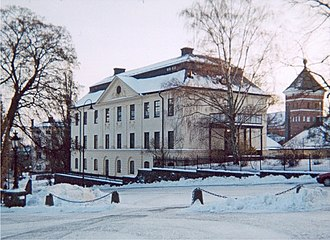 Archbishop of Uppsala - The Archbishop's Palace in Uppsala, designed in the 18th century by the architect Carl Hårleman, but built on older foundations.