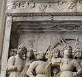 Arco trionfale del Castel Nuovo, 13 partenza di alfonso.JPG