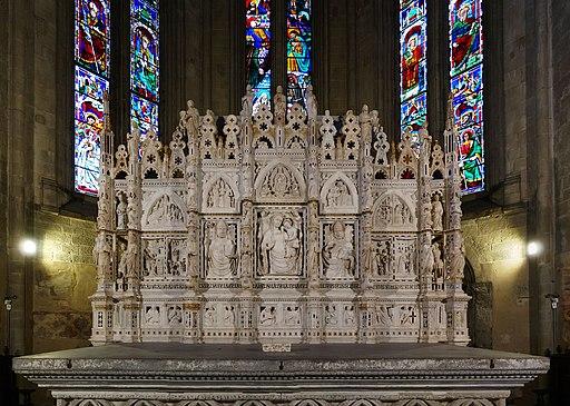AL'Arco di San Donato nel Duomo di Arezzo