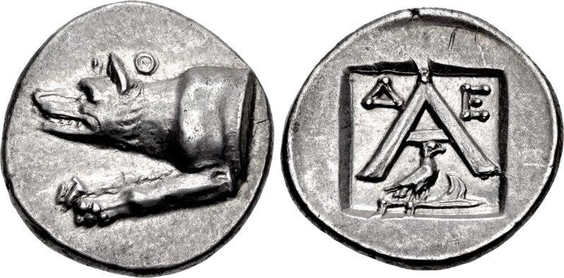Argos, Triobol, c.270-250 BC, HGC 5-670